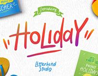 Holiday Font | Free Font