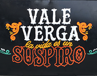 Vale Verga - Sign painted