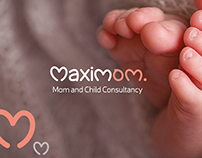 Maximom Mom and Child Consultancy Branding