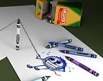 3D Advertisement: Crayola