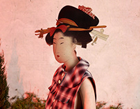 When Asian Classic art meets Fashion