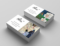 Visual identity for painting exhibition