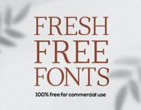 New Fresh Free Fonts
