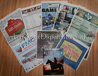 Lampasas Dispatch Record Special Section Covers