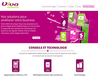 Viva-multimedia / UX-UI / Webdesign / 2014
