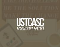 USTCASC Recruitment Posters