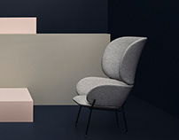 Carmen armchair for Bolia
