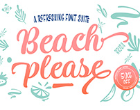 Beach Please font