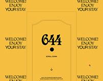 Creative Studio '644' Website
