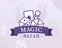Magic Bazar - Logo Design