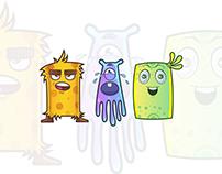 Creative Toon Characters | F1 Digitals