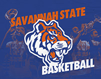 2018 Savannah State Basketball Poster