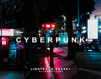 Cyberpunk Adobe Lightroom Preset - Free Download