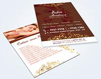 Cartões de Visita e Flyer | Salão Anneliese
