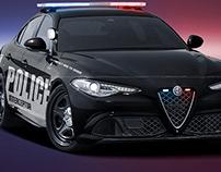 2020 Alfa Romeo Giulia Police Interceptor