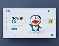 Doraemon UI design concept