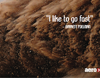 aero : Garrett Poelman promo ads & skate decks
