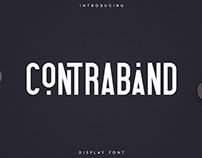 Contraband - Display Font   Free Font
