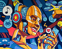 Mural TI Martins