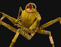 3D model spider-centurion TES:Morrowind