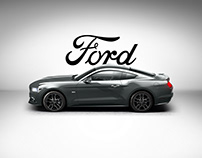 Ford Mustang web ad