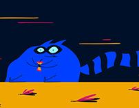 Windy Day & Fat Raccoon | Animation Progress