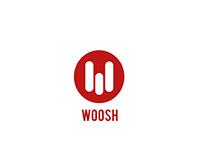 Branding of Woosh | Shipment tracking app