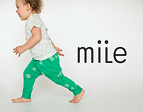 Webdesign of children's clothes online store