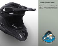 Mx Helmet Design by Alberto Pulita