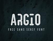 Argio I Free Sans Serif with optional Stencils