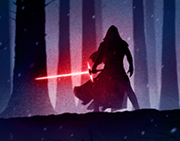 Star Wars: The Force Awakens - Color and Noir Editions