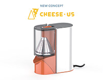 Re-Design of a cheese-grater. Cheese-Us