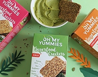 Oh My Yummies Superfood Crackers