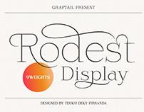 Rodest - Font Family