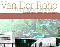 Tugendhat  House: Modern Meets Nature