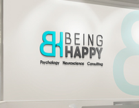 BeingHappy Logo psychology