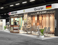 Modern Mazaya Exhibition Stand design for Index
