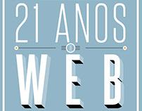 21 anos de web