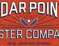 Cedar Pointe Oyster Co. Logo & Branding