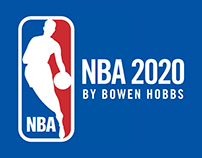 NBA 2020 by Bowen Hobbs