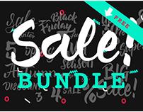 SALE Lettering Set | FREE download