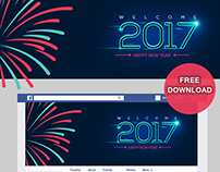 Happy New Year 2017 | Facebook Cover Photo | DOWNLOAD