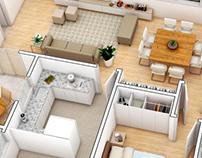 3D plans - Planta 3D
