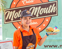 Motor Mouth Food Truck Brand Identity