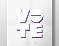 VOTE 2016 Poster