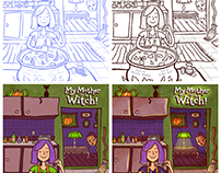 Drawing Process: Children's Book Covers