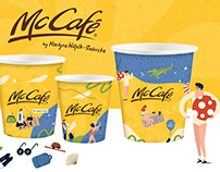 ILLUSTRATION SERIES ON CUPS - McDONALD's