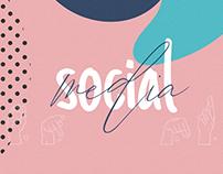 Social Media - Mosaico Instagram (Libras)