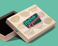 RETRO LOVERS - Branding