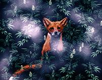 Fox in the Weed Garden by CreepSeason